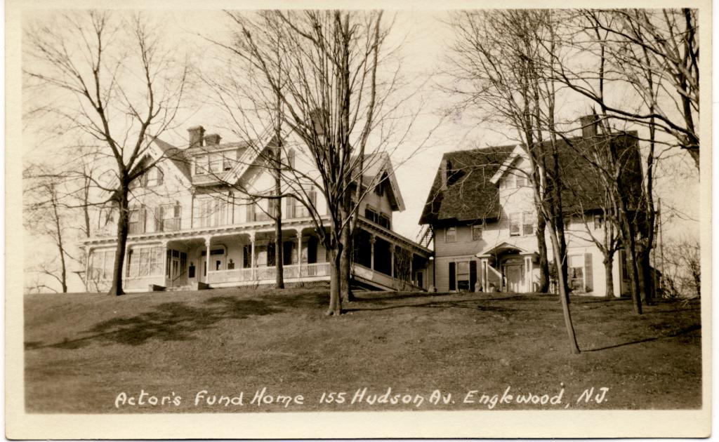 The original Home was relocated from Staten Island to Englewood, New Jersey in 1928. | Photo by The Actors Fund
