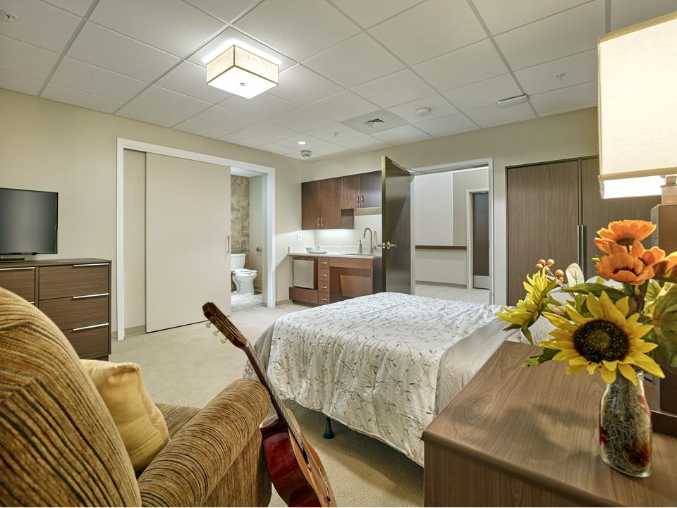 Our newly modernized assisted living facility creates a resident-centered, home-like setting. | Photo by Don Pearse Photographers, Inc.