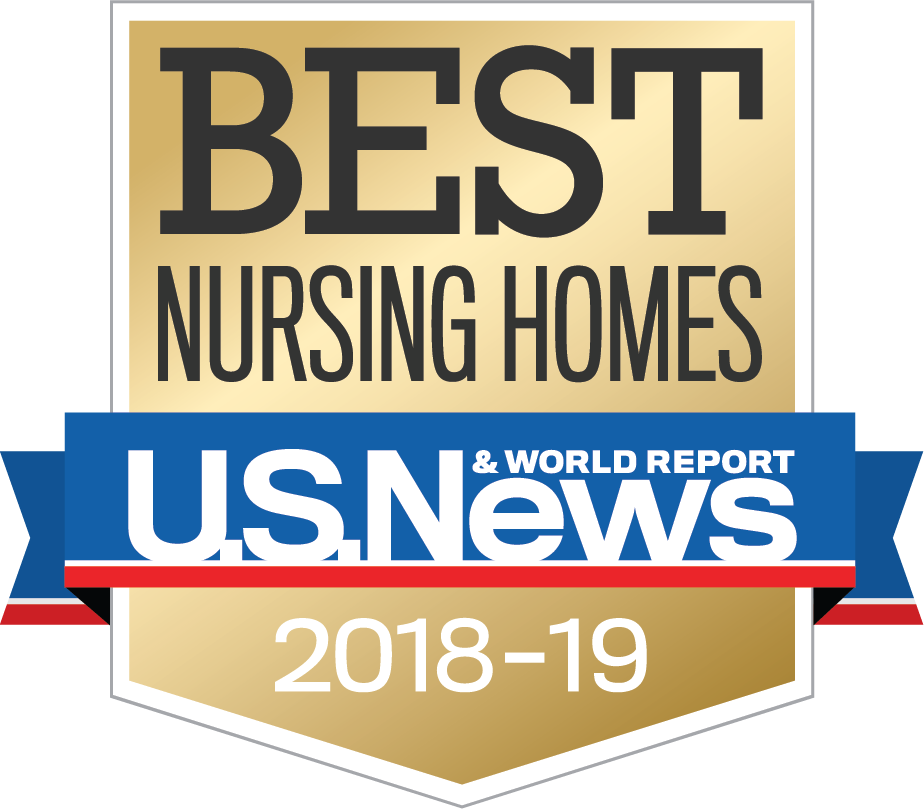 Certification for Best Nursing Homes, 2018-2019, U.S. News and World Report